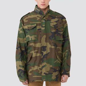 EUC Camo Military Field Coat (Medium Long)